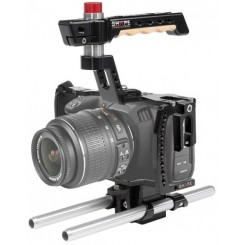 SHAPE BLACKMAGIC POCKET CINEMA 4K CAGE WITH 15MM ROD SYSTEM