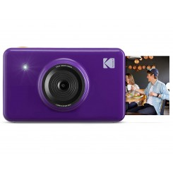 Kodak mini Shot Instant Camera purple