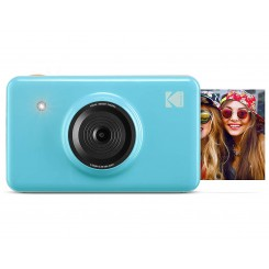 Kodak mini Shot Instant Camera Blue