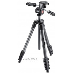 Manfrotto Compact Advanced Aluminum Tripod MKCOMPACTADV-BK