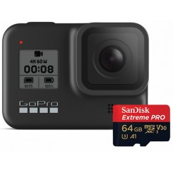 Gopro HERO8 Black With Sandisk 64GB
