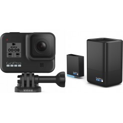 Gopro HERO8 Black With Dual Battery Charger