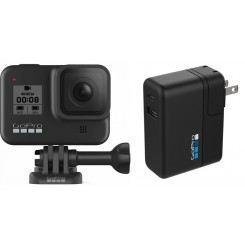 Gopro HERO8 Black With Supercharger