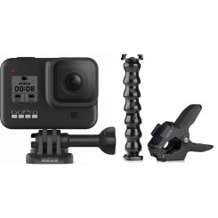 Gopro HERO8 Black With Jaws Flex Clamp