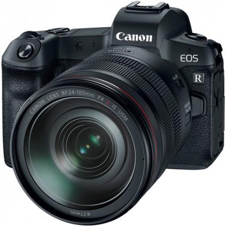 دوربین کنون EOS R به لنز 24-105