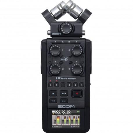 رکوردر صدای Zoom H6 All Black