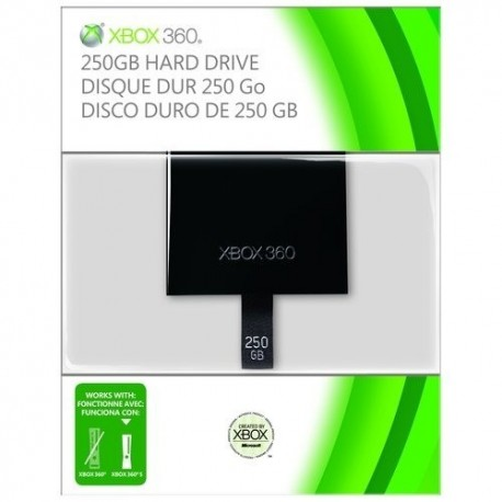 xbox slim HDD 250GB
