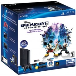 PS3 Slim 250GB Epic Mickey