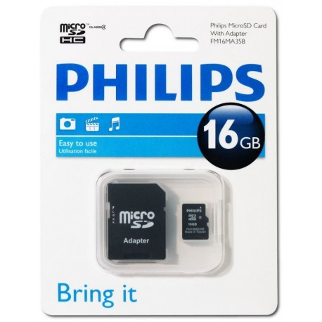Philips Micro SD 16GB Class 10