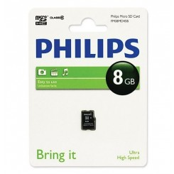 Philips Micro SD 8GB Class 10