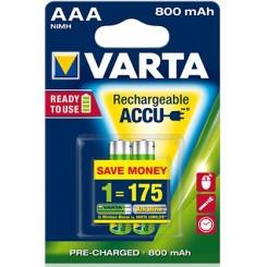 VARTA Rechargeable AAA 800 mAh