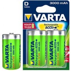 VARTA Rechargeable Accu D 3000 mAh