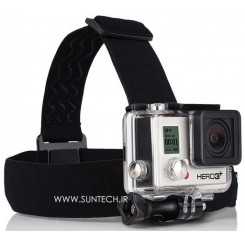 GoPro Head Strap Camera Mount+Quick Clip