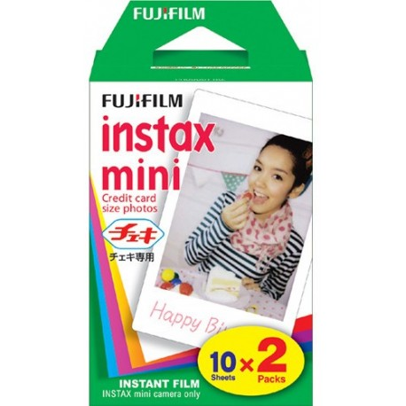 Fujifilm Instax mini Film Twin Pack