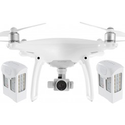 Phantom 4 with Two Extra Battery