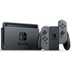 Nintendo Switch with Gray Joy‑Con