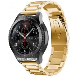Gear S3 Gold Metal Band