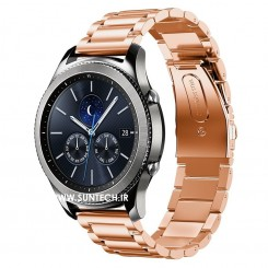 Gear S3 Rose Gold Metal Band