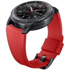 Gear S3 Silicon Band RED