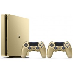 PlayStation 4 Slim Gold Dual Controller