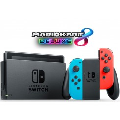 Nintendo Switch with Neon Bundle