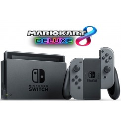 Nintendo Switch with Gray Bundle