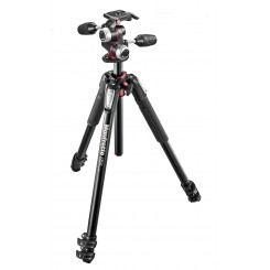 Manfrotto 055 Aluminium Tripod With X-PRO 3-Way