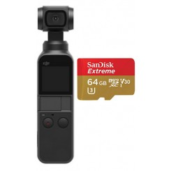 DJI OSMO POCKET With Sandisk 64GB
