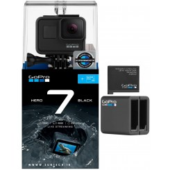 GoPro HERO7 Black With Dual Battey Charger