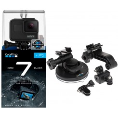 GoPro HERO7 Black With Suction Cup