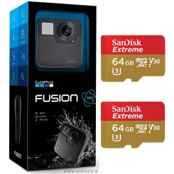 Gopro Fusion With Sandisk 64GB